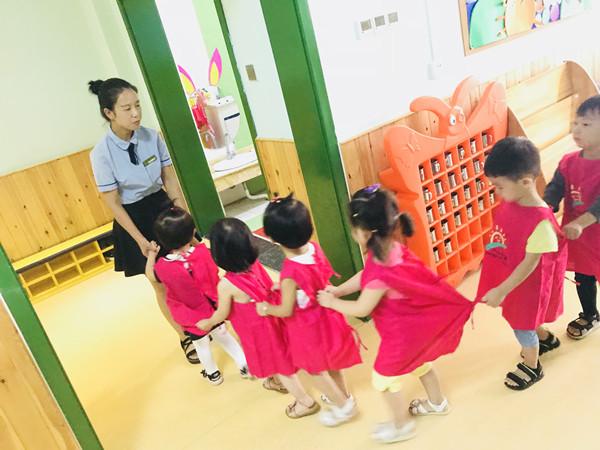 [嵩阳办]入园初体验——崇高路幼儿园开展小班新生半日适应活动