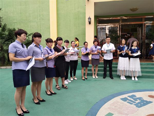 [唐庄] 开展卫生保健观摩活动 助推幼儿园保育大发展