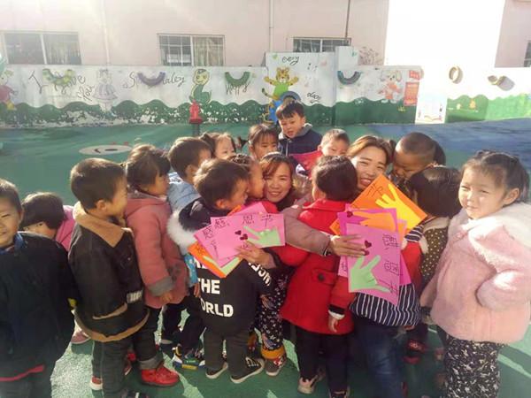 [大冶]大冶镇金太阳幼儿园感恩主题活动