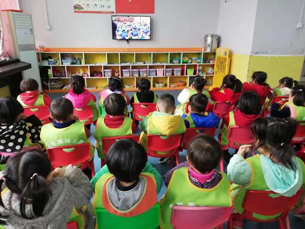 """[嵩阳办]青苹果幼儿园开展""""爱护眼睛 保护视力""""主题教育活动"""